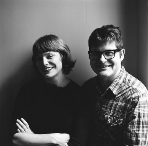 Carson Ellis and Colin Meloy; photo credit: Autumn de Wilde