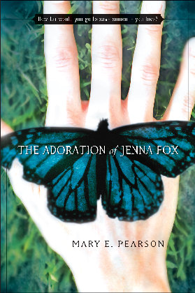 The Adoration of Jenna Fox. Notice how the butterfly's left wing is damaged.
