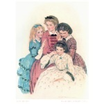 Jessie Wilcox Smiths Little Women. This one should be on a black shirt, because otherwise its just too girly.